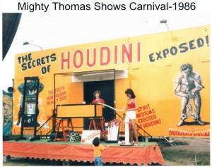 HOUDINI Exhibit Carnival